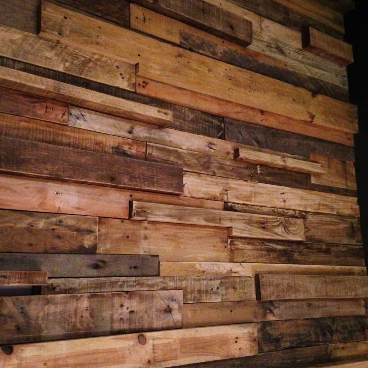 Tablas de madera usada para revestimiento stockpalet - Madera para paredes ...